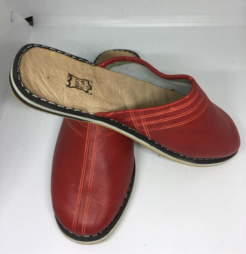 f3e405a7fa28a Women Leather Babouche Morocco Slides Shoes Handmade For Winter / Berber  Sheepskin/ Slippers balgha/ yemen shoes/ gift FAST DELIVERY