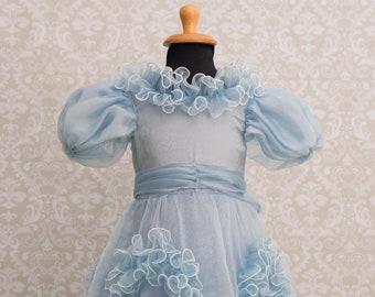 Girls Princess Ruffles Ball Gown
