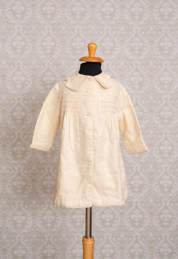 Antique Victorian Ivory Colour Jacket