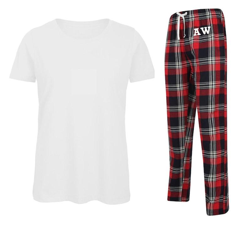 89e7fef6a8 Personalised Men's Pyjamas Set Monogrammed Gift Pyjamas   Etsy