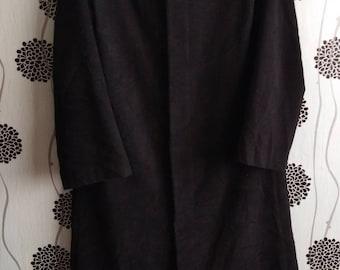 610079dd773 Luxury Yohji Yamamoto Long Jacket Wool Hooded Size Medium (perfect  condition like new clothes)