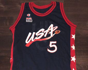Grant Hill USA Dream Team Champion Jersey 1996