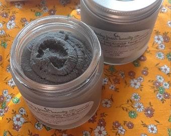 Charcoal + Bentonite Face Scrub