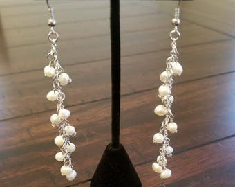 Pearl Danglers