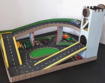 Toy Car Mat Etsy