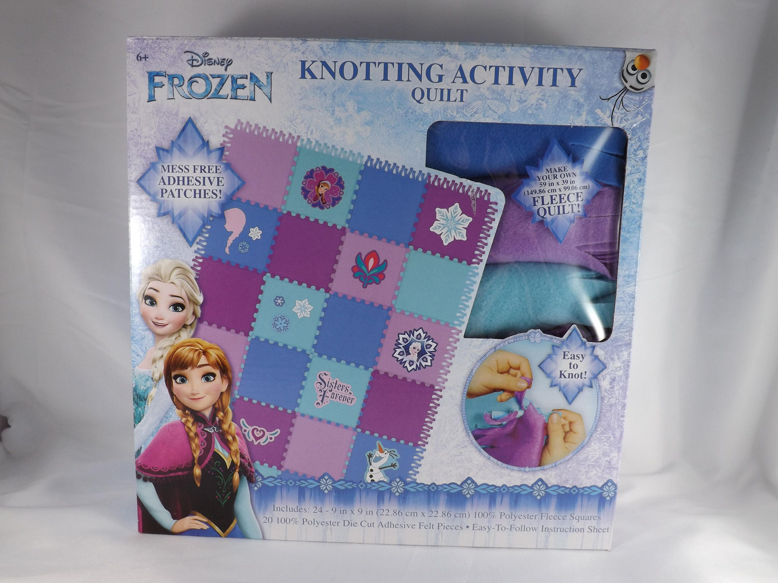 Frozen Knotting Activity Quilt Disney