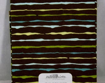 Zinnia Blue1 Fat Quarter - #108 - Fabric Palette