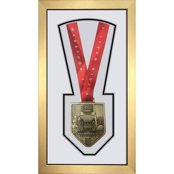 London Marathon 2018 Display Frame for Single Medal Only – White ...