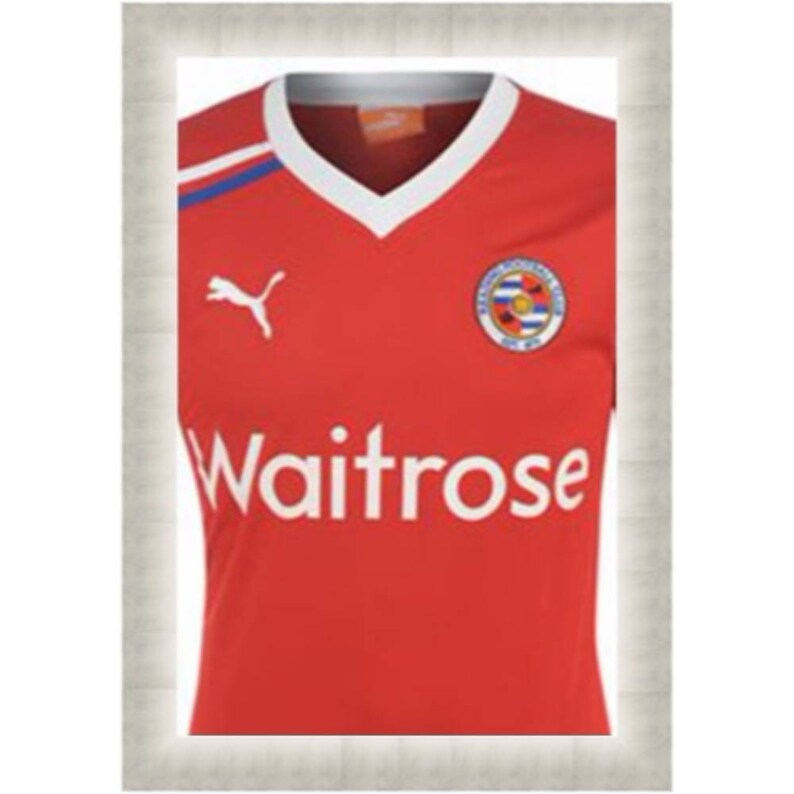 Sport Gifts T -Shirts Frames for Gifting 3D DIY Frames For Reading Football Club Royals Signed Football T Shirts Shirts Framed Tee