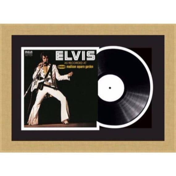 Vinyl Record Frames / Single 10″ Vinyl LP Record Merged Album Cover ...