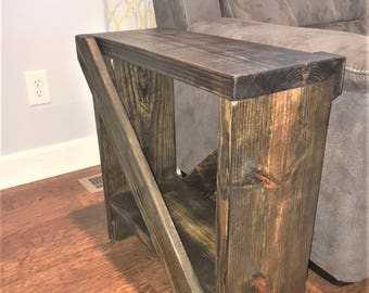 Etonnant Rustic End Table
