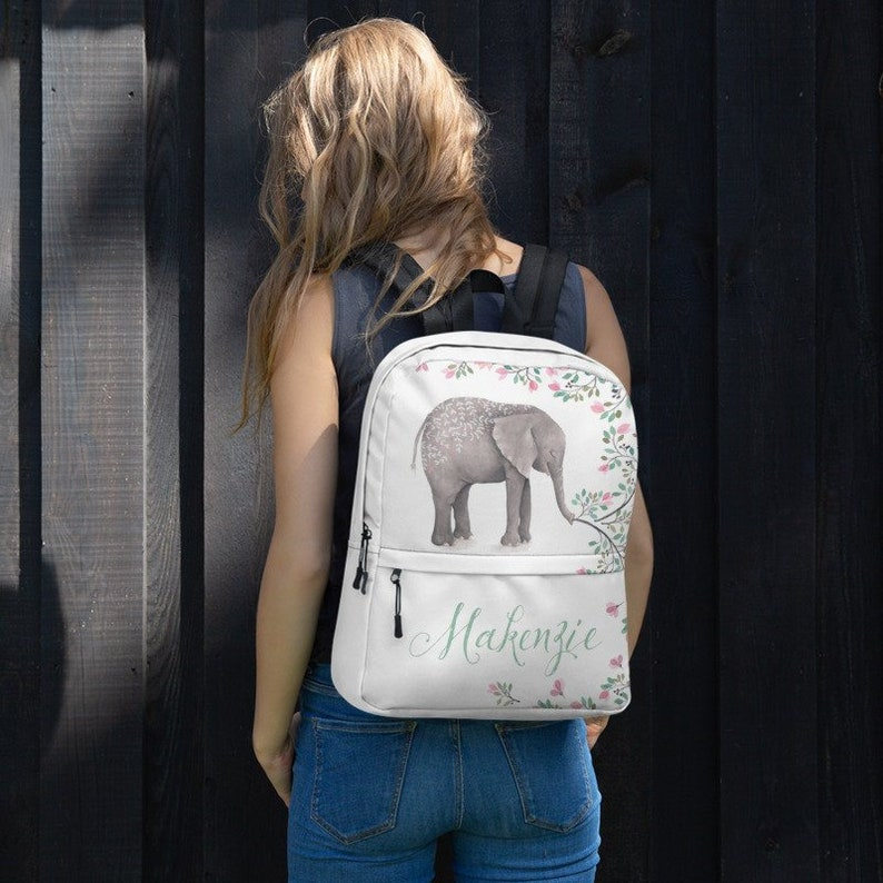 Personalized Backpack book bag back to school Bookbag for image 0
