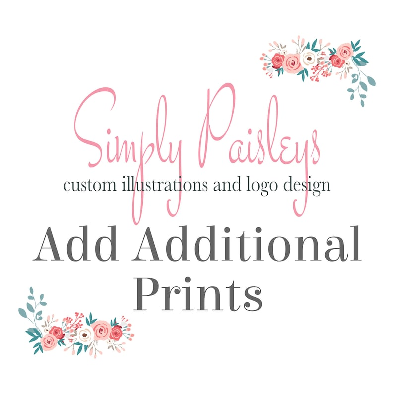 ADD Additional Prints to a Custom Family Portrait print order image 0
