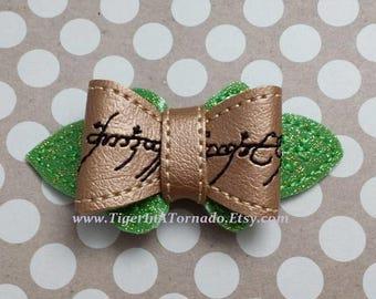 Elvish One Ring Bow
