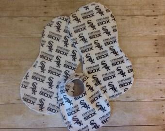 Chicago White Sox Bib/Burp Cloth Set