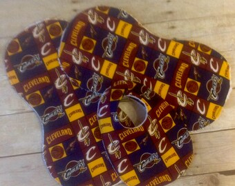 Cleveland Cavaliers Bib/Burp Cloth Set