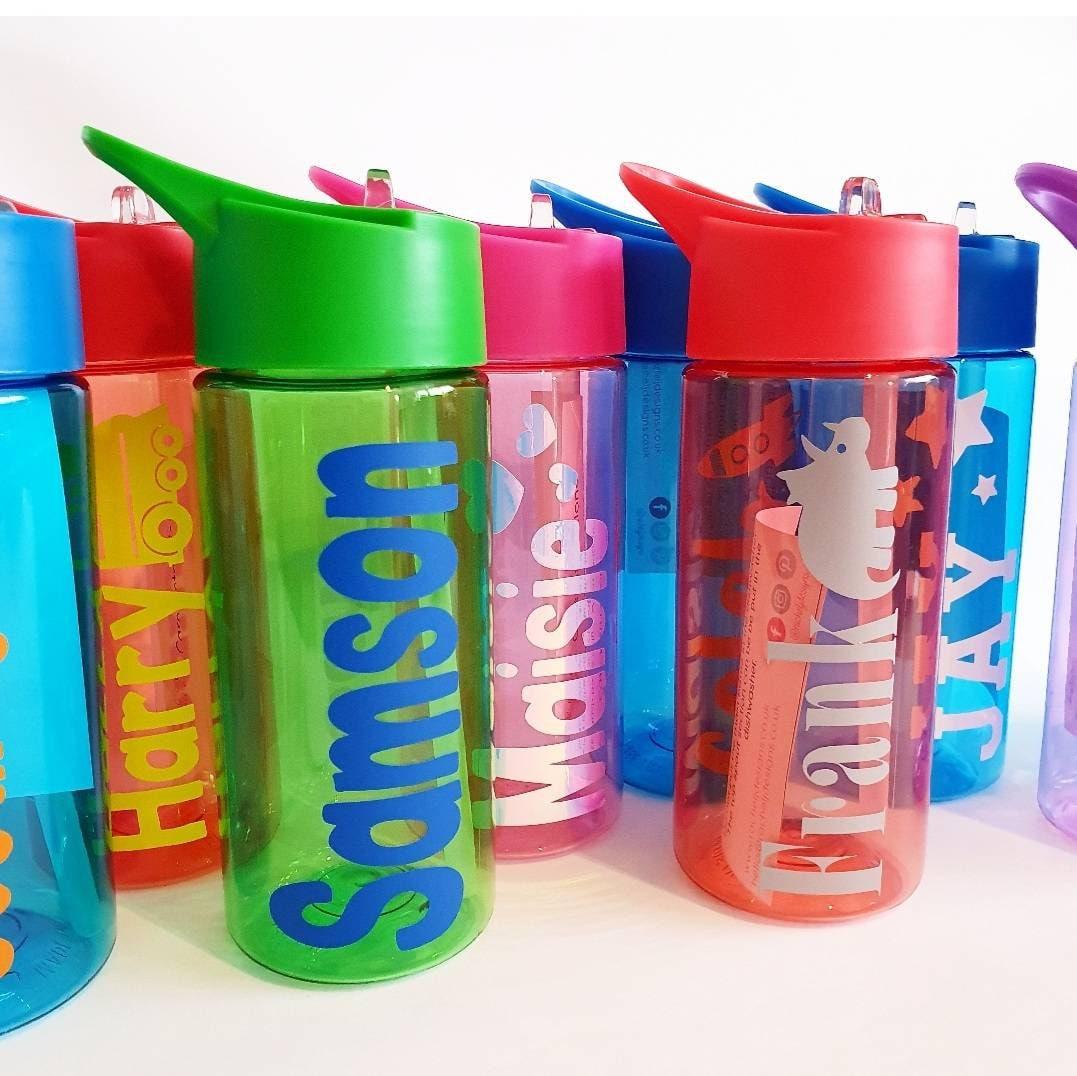 Personalised Little Adventurer 400ml Kids Children/'s Water Drinks Bottle