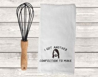 I Got Another Confection to Make Floursack/Tea Towel/Dave Grohl/Kitchen Decor/Foo Fighters