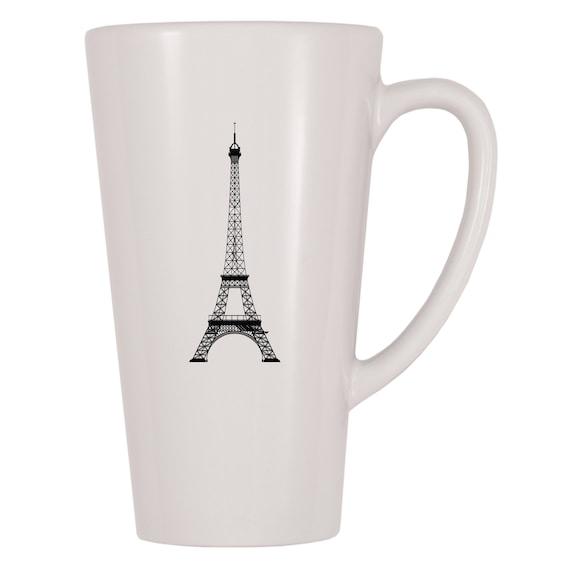 Funny MUGS-Eiffel I Fell Tower-Travel Explorer Camp de Vacances Voyage Novelty Mug