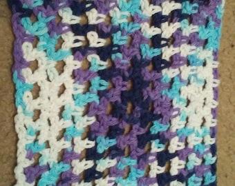 Beautiful Crocheted Dishcloth