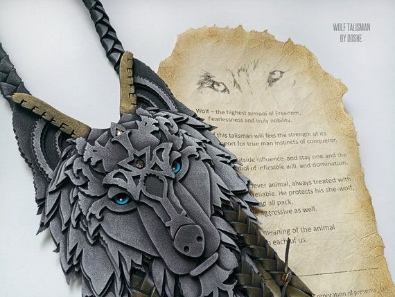 Awesome WOLF TOTEM - Protection talisman for Home