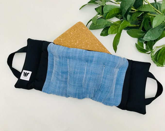Yoga Weight Pack | Yoga Sand Bag | Heat Pack | Warm or Cold Compress | Yoga Body Support | Soothing Weighted Pad | Natural Pain Relief Gift