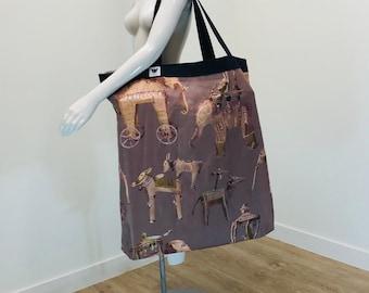 Yoga Bag | Extra Large Yoga Bag | Boho Print | Yoga Tote | Yoga Equipment Bag | Over-sized Bag | Light Weight | Washable | Yoga Prop Bag
