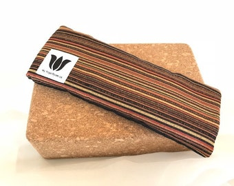 Earth Tones, Eye Pillow, Eye Shade, Flax Seed, Organic Fill, Eye Compress, Warm / Cold Pack, Eye Therapy, Eye / Headache Relief, UNSCENTED