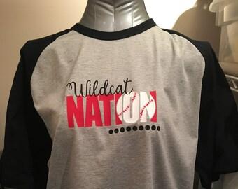 Wildcat Nation Baseball T