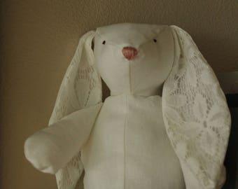 Linen Lace Chloe Bunny