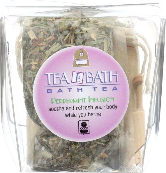 Peppermint Infusion  refill bath (Certified Organic)