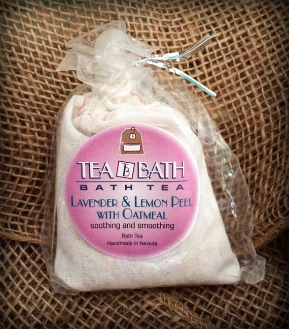 Lavender Lemon with Oats individual bath (Certified Organic)