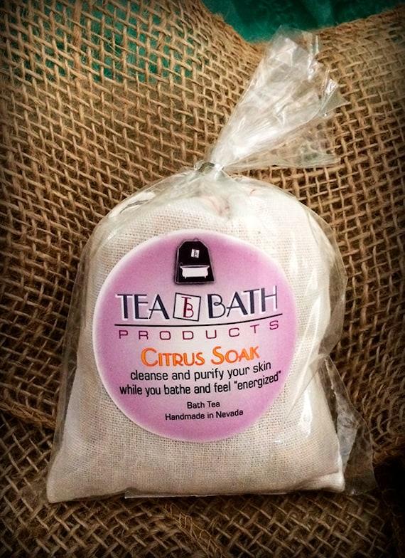 Citrus Soak individual bath (Certified Organic)