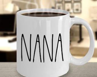 christmas gift for nana coffee mug minimalist grandma gift nana mug nana gift nana birthday from grandson from granddaughter