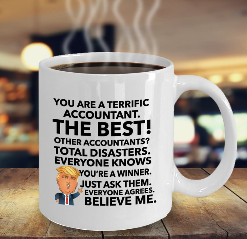 I Love Trump Mug Funny Birthday Ceramic Mug Coffee Cup Gift For Men Women