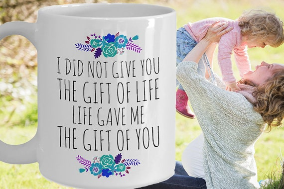 Mother Daughter Coffee Mug Birthday Gift To From