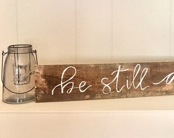 Be Still and Know Pallet