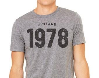 40th Birthday Gifts For Women & Men - Gift for man -Vintage 1978 Shirt - 40th Birthday Shirt - 40th Birthday - Tee 40th Birthday T-Shirt