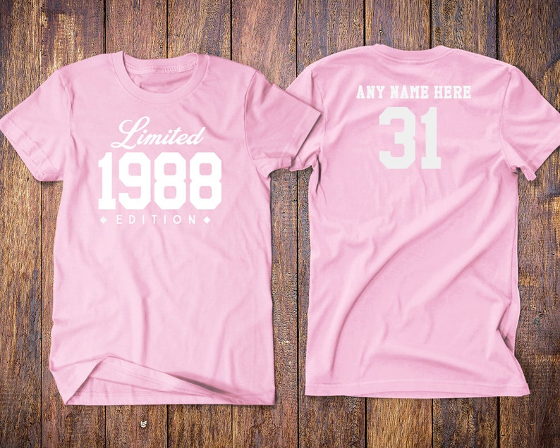 1988 Birthday Shirt 31st