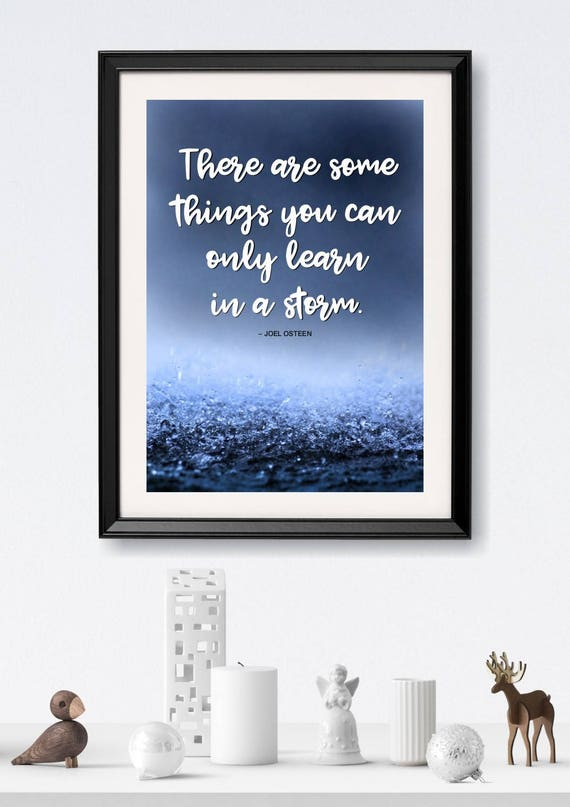 Printable file: JOEL OSTEEN quote, Inspirational quote, Your daily motto,  Motivational art decor, Wall Art, Home decor, Inspiring words