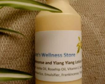 Frankincense and Ylang Ylang Face Lotion 75ml