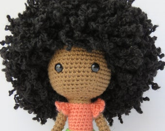 MADE TO ORDER    Aziza    Handmade African American Doll