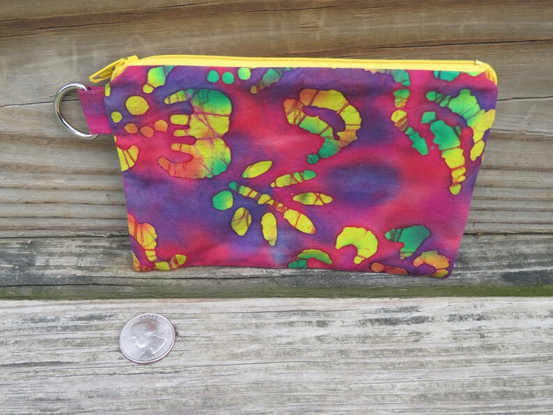 Small Zippered Notions Pouch