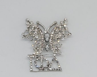 Gamma Phi Delta Sorority, Inc. / Butterfly lapel pin/Unique/ 1943/ Brooch/ Sorority