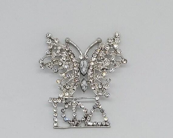 Gamma Phi Delta Sorority, Inc. / Butterfly lapel pin/Unique/ 1943/ Brooch/ Sorority