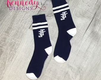Jack and Jill of America, Inc. Dress Sock - Navy