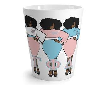 Gamma Phi Delta Sorority , Inc. Latte Mug/ Coffee Lovers/ Drinkware