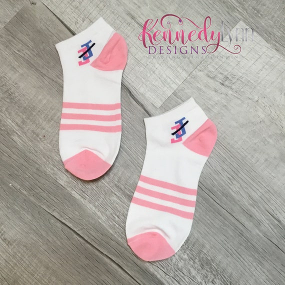 Jack and Jill of America, Inc. Ankle sock - Pink