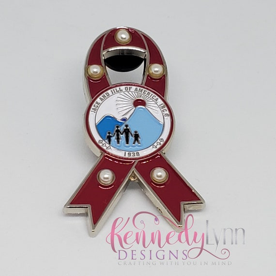 Awareness Pin - Jack and Jill of America, Incorporated.