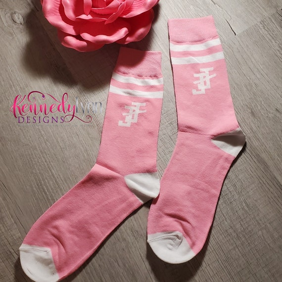 Jack and Jill of America, Inc. Dress Sock - Pink